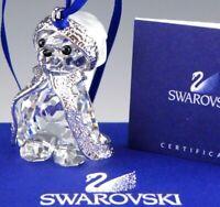 Swarovski Crystal Figurine Christmas Ornament 870000 KRIS BEAR 2006 Mint Box COA
