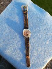 1960s Hopalong Cassidy Timex Mechanical Wrist Watch Disney