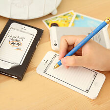 Creative Planner Memo Pads For iphone 7 Checklist Message Writing Notepad Set