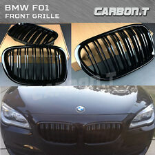 09-15 GLOSS BLACK FRONT GRILLE M LOOK FOR BMW F01 F02 7-SERIES 730d 740i 750i