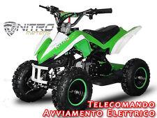 MINIQUAD PYHTON benzina AVV.ELET.Mini Moto Cross Quad bimbo Minimoto per bambini