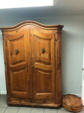 Country Pine Antique Armoire, Wardrobe or Closet