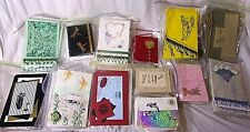 Handcrafted Greeting Cards by Karen Bloom Lot of 100 Plus Assorted Designs Vnc