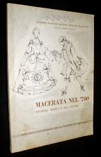 Macerata nel '700 : panorama storico e del costume / Guido Ghino Vitali
