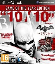 Batman Arkham City GOTY PS3 USATO ITA