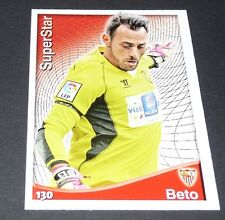 BETO PORTUGAL SEVILLA SEVILLE FOOTBALL SUPERSTAR LIGA 2014-2015 MDCROMO PANINI
