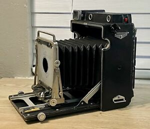 Graflex Pacemaker Crown Graphic 4X5 Camera Body AS IS