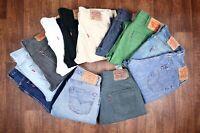 Vintage Levi Levis Jeans 501 GRADE A Unisex Size 40 42 44 46
