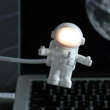 Spaceman Led Usb Light Computer Laptop Mini Astronaut Flexible Read Table Lamp