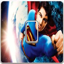 Superman Light Switch Vinyl Sticker Decal for Kids Bedroom #138