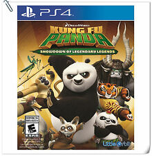 PS4 Kung Fu Panda: Showdown of Legendary Legends SONY Action Games Little Orbit