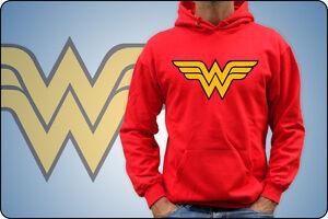 Unisex Sweatshirt Or Baby Wonder Woman Ages 70 Dc Comics Captain America