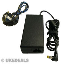 Delta Adp-65jh Acer Aspire 5536 5315 5735 5920 Laptop Cargador + plomo cable de alimentación