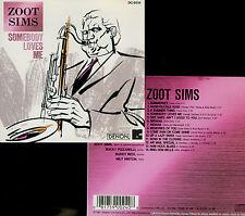 ZOOT SIMS somebody loves me  BUCKY PIZZARELLI - BUDDY RICH - MILT HINTON / DENON
