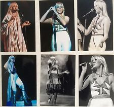 Agnetha Faltskog Live Concert Tour 1977 Photo Set 6 - NEW Jan'16 *ABBA Frida SOS