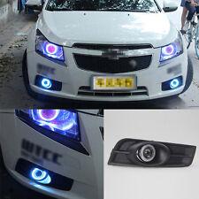 For Chevrolet Cruze 2010-2013 Full COB Fog Light Source Angel Eye Bumper Cover