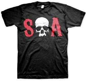 T-Shirt Sons Of Anarchy - Soa Skull Men's Sweater Official Hybris