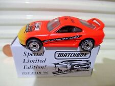 Matchbox 1996 USA Toy Fair TOYOTA SUPRA TURBO New Mint in New Mint Box