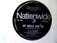 """G. G. DOBBIN-MY BELLE AND ME/INSTANT KARMA-BEATLES COVER """"RARE OZ"""" 45 RPM"""