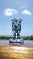 Vintage Hawaiian Ku Tiki Bar Oasis Chalkware Figurine Luau Hawaii Paperweight