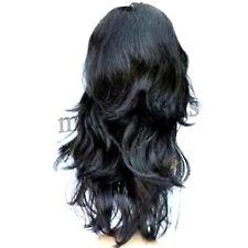 Impresionante mujer de lujo del partido de Cosplay de la peluca rizada larga