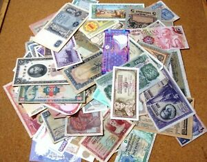 100+ WORLD BANKNOTES