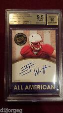 JJ Watt  2011 Press Pass All American Auto Rookie Card 171/205 BGS Gem Mt 9.5/10