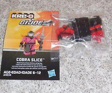 G.i. Joe Kreo COBRA SLICE Figure New Misp Kreon Kre-o Micro Changers Ninja