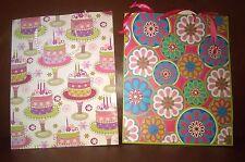Birthday Gift Bags Set of 2