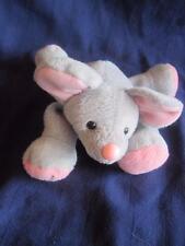 "1997 Stuffins ""Squeeker Mouse"" Plush-Gray  Long Legs 6"""