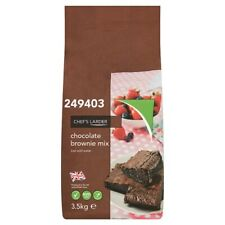 CHOCOLATE Brownie Mix Large 3.5kg Packet Bag Bake Your Own Home Made Brownies