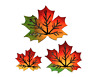 New wooden leaf magnets handmade in the USA