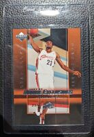 2003 UPPER DECK EXCLUSIVES #1 LEBRON JAMES ROOKIE CARD CAVALIERS LAKERS GEM MINT