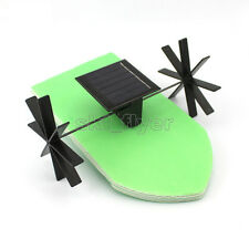 Solar Boat Toy Kit Propeller Motor Watercraft DIY Model Hobby Learning School