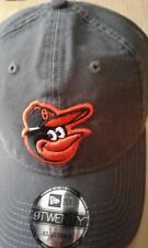 outlet store 2613e 4e970 BALTIMORE ORIOLES NEW ERA CORE CLASSIC GRAPHITE GRAY MENS 9TWENTY  ADJUSTABLE HAT