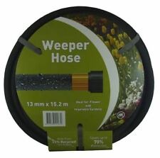 13mm x 15.2m Weeper Hose for Lawns and Gardens