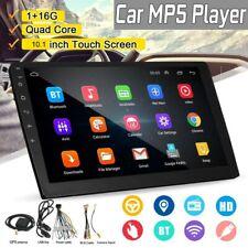 "2DIN 10.1"" Android 8.1 Autoradio MP5 Player GPS Navi WiFi BT USB FM Vidrio 2.5D"