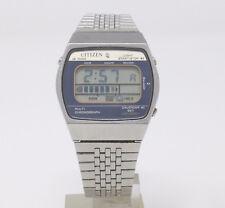 Orologio Citizen 40-8077 watch multi chronograph digital chrono clock vintage
