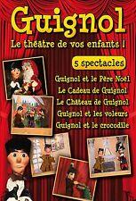 DVD Guignol - 5 spectacles - Vol. 1 à 5 /// 2 DVD Box / IMPORT