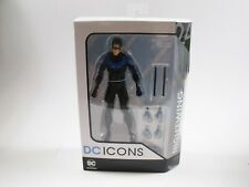 DC ICONS 6'' NIGHTWING ACTION FIGURE DC COLLECTIBLES MIB