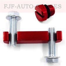 Red Aluminum Bleeder Screw Fuel Filter Head Housing Spacer Duramax 01-17