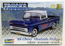 Revell 1966 Chevy Fleetside Pickup Truck Kit Sealed
