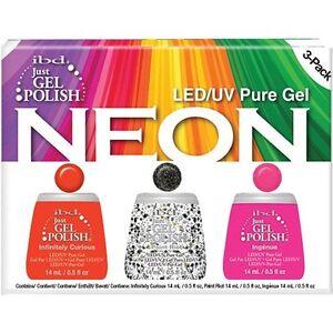 IBD Just Gel Polish Neon 3-Pack 56948