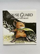 Mouse Guard #1 Belly Of The Beast First Print Rare NM Petersen Archaia