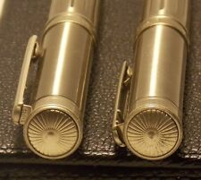 Two Pairs of Collector'S Edn American Classic Midlands Roller Ball Pen Sets