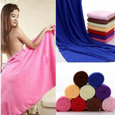 Microfibre Cotton Beach Bath Towel Sports Travel Camping Gym Lightweight 70X140.