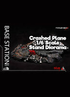 Toys Box Crashed Plane Base Station 1/6 Scale Diorama SS010