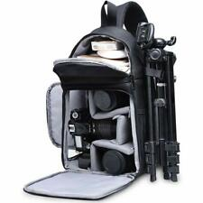 Shockproof Camera Backpack Water Repellent Sling Bag Case for DSLR Lens Tripod