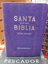 BIBLIA VIOLETA  MEDIANA REINA VALERA 1960 INDEX