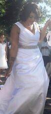 White Plus Size Beautiful Wedding Gown Dress xl xxl Labor Day Sale